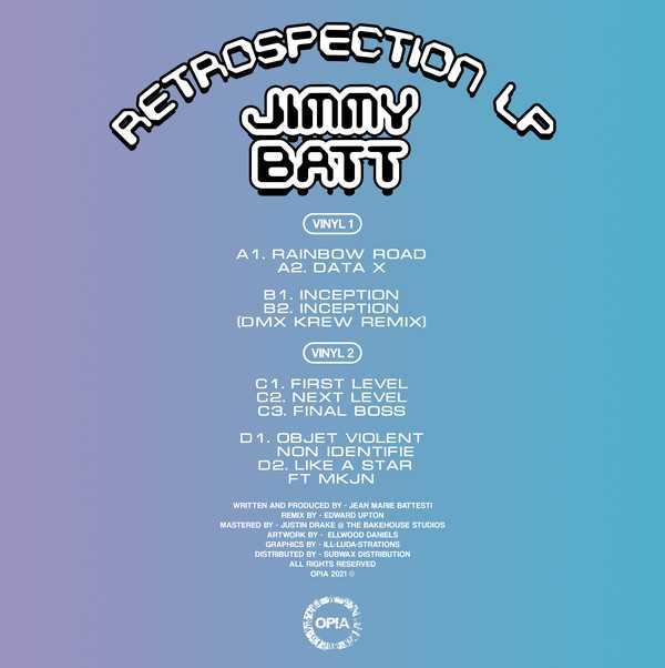 Jimmy Batt - Retrospection LP