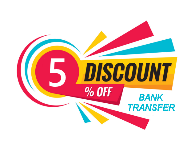 lower prices for bank transfer